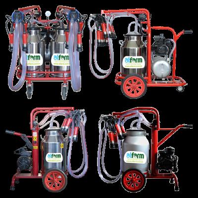 Mobil Süt Sağım Makineleri